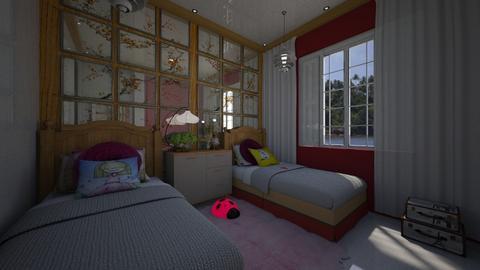Luna - Kids room  - by Maria Helena_215