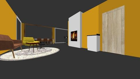 Waldeck Pyrmontlaan 10 - Living room  - by nadinetenhave