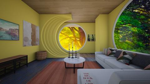 minimalist living room II - Living room  - by quesal0l2347
