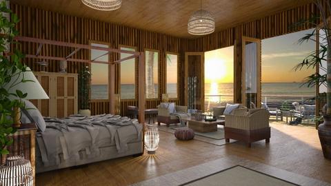 Design 419 Bamboo Beach Life - Bedroom  - by Daisy320