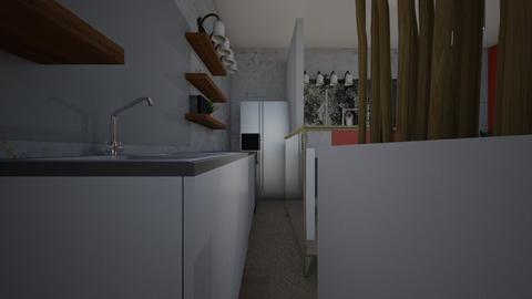 East Gourmet kitchen d - Bathroom  - by Trincityredo