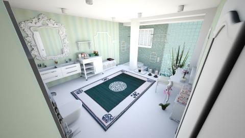 Large luxury bathroom - Eclectic - Bathroom  - by mmt_regina_nox