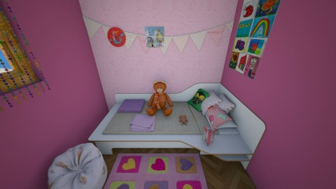 girly girl room - Kids room - by Alixandria Wolff