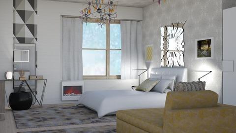 Snowstorm - Modern - Bedroom  - by augustmoon