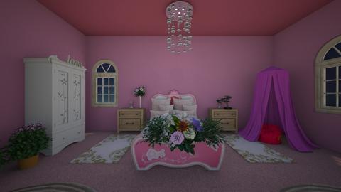 Princess  - Glamour - Kids room  - by gem27