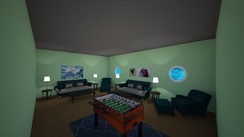 Family Room - Living room  - by Rsvo64