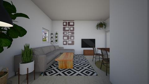 house ramat chen 4 - Living room  - by TamarMatalon