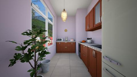 Violet - Classic - Kitchen  - by Twerka