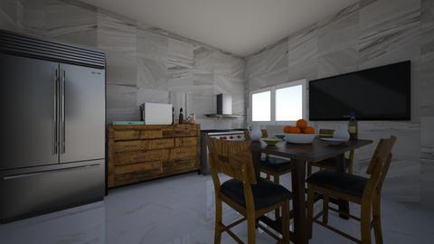 trabajo tecnologia 2 - Modern - Kitchen  - by juankiloppez