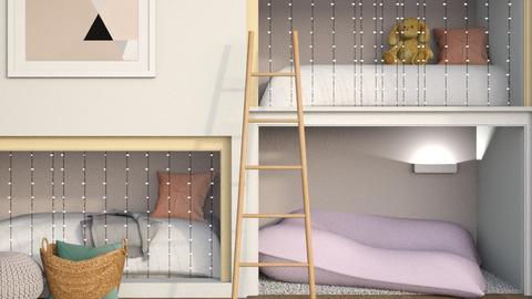 Fun BUNKS - Bedroom  - by n i n i