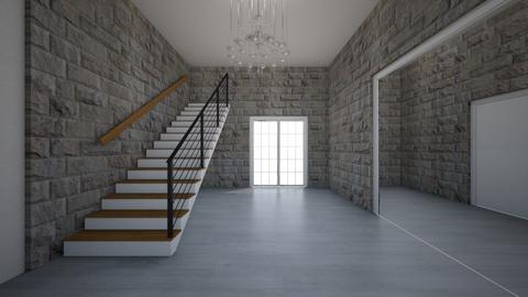 mansiom - Living room  - by Architectdreams
