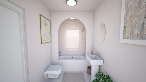 rose pink - Feminine - Bathroom - by puppyjwoos