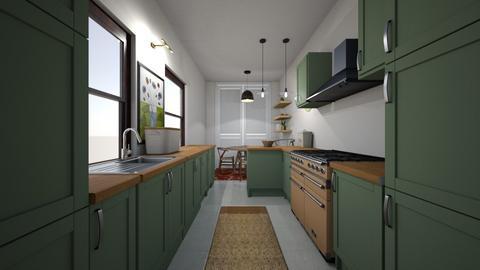 Paula Dron Windsor Kitche - Kitchen  - by Beth Hayward