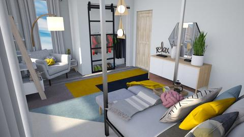 Calm Studio View 3 - Modern - Bedroom - by musicdesign22
