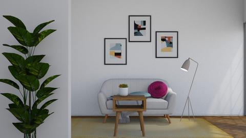 Color - Minimal - Living room  - by flowerchild369