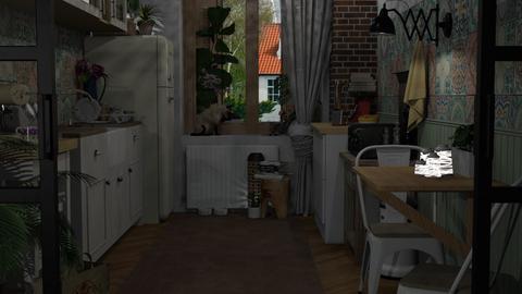 Boho - Kitchen  - by elena ed
