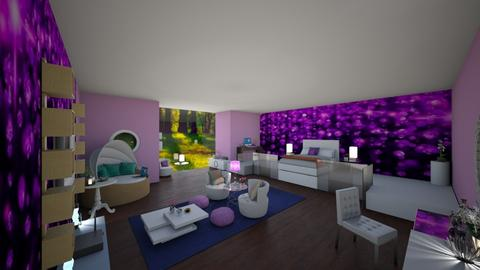 Girls Bedroom - Glamour - Bedroom  - by FabulousGirl35