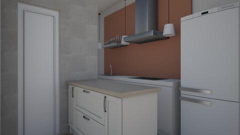 kitchen 1 - Modern - Kitchen  - by iancarlg