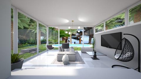 Modern Living Area - Living room  - by matullosr