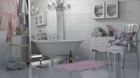 Relax - Glamour - Bathroom  - by Kathran