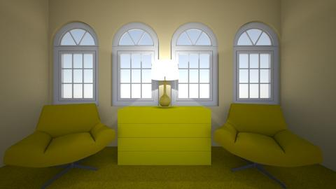yellow - Living room  - by 21jurgemmsartell