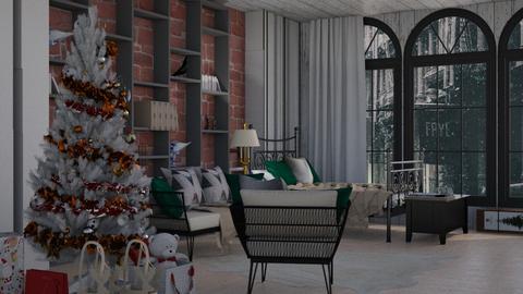 winter 2020 - Bedroom  - by Bia10_moonlight