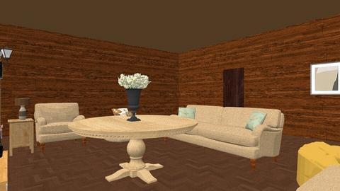 Living Room - Rustic - Living room  - by RoseGrangerWeasly