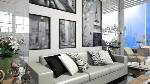 Roberta - Living room - by Monse Bernal