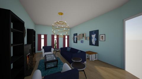 Balance rhythm emphasis - Living room  - by angeln1