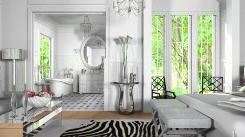 Luxury Bed - Classic - Bedroom  - by Hajar Ben Hamou