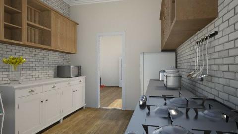 kitchen1 - Modern - Kitchen - by kris_kris