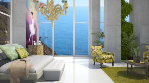 concreto - Living room - by Carla Braga