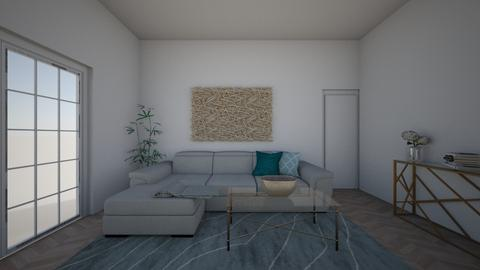 Blue Living  - Living room  - by gabzzzzz123
