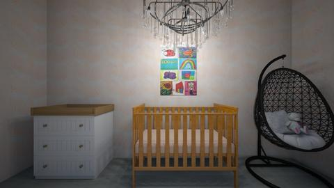 baby girls room - Kids room  - by OferneH