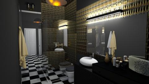 black one - Bathroom  - by ewcia3666