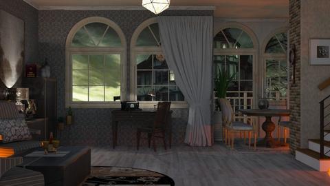 stromy - Living room  - by nat mi