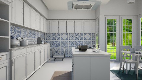 Kitchen Portuguese  - Classic - Kitchen  - by Valeska Stieg