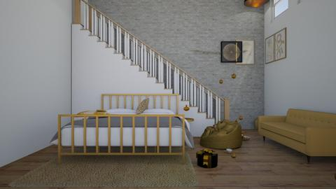 basement not finished - Bedroom - by irisrmks