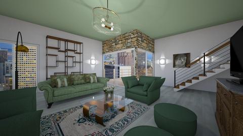 Zr - Modern - Living room - by Saj Trinaest