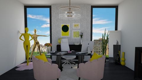 YellowWorkingSpace - Office  - by Eszter Potor