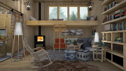 the house in nature  - Eclectic - Living room  - by Ida Dzanovic