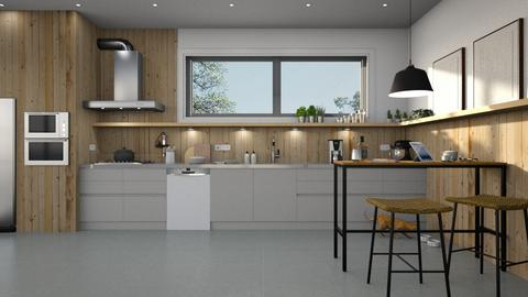 587 - Modern - Kitchen  - by Claudia Correia