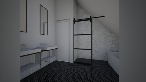 badkamer 4 - Bathroom - by Christyk3