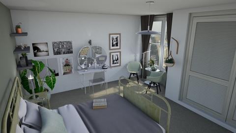 Saged - Modern - Bedroom  - by augustmoon