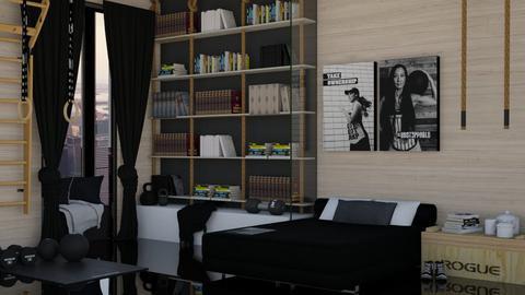 Sport Bedroom 2 - Bedroom  - by KittyKat28