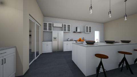 Interior Design Kitchen - Kitchen  - by PaigeKerkhoff