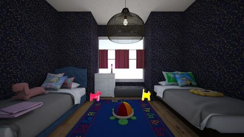 Weekly Design Challange - Kids room  - by Angela Wo