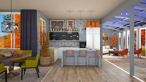 Autumn Inspired Kitchen - Kitchen  - by jjp513
