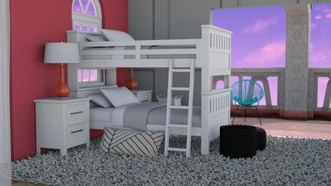 Cute bedroom pink - Bedroom  - by Chayjerad