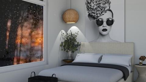 Coastal Vintage Bedroom - Bedroom  - by MilksDaBunz